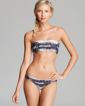 MIKOH - Kauai Bandeau Bikini Top & Zuma Bottom