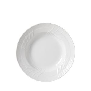 Richard Ginori Vecchio White Rimmed Soup Plate