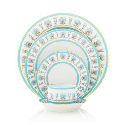 Palmette Rimmed Soup Plate
