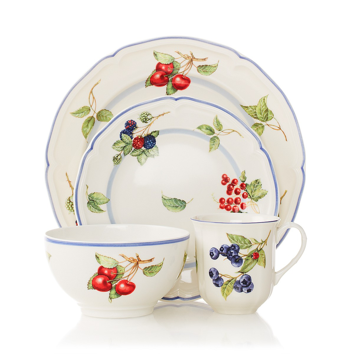 villeroy boch cottage dinnerware bloomingdale 39 s. Black Bedroom Furniture Sets. Home Design Ideas