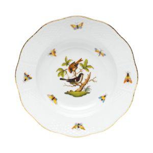 Herend Rothschild Bird Rimmed Soup Bowl, Motif #4