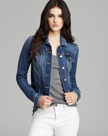 PAIGE - Vermont Denim Jacket