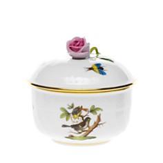 Herend Rothschild Bird Covered Sugar Bowl - Bloomingdale's_0