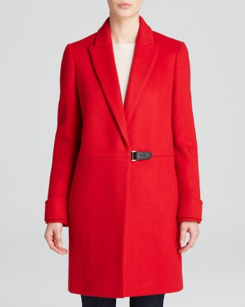 Calvin Klein - Coat - Notch Collar Wool