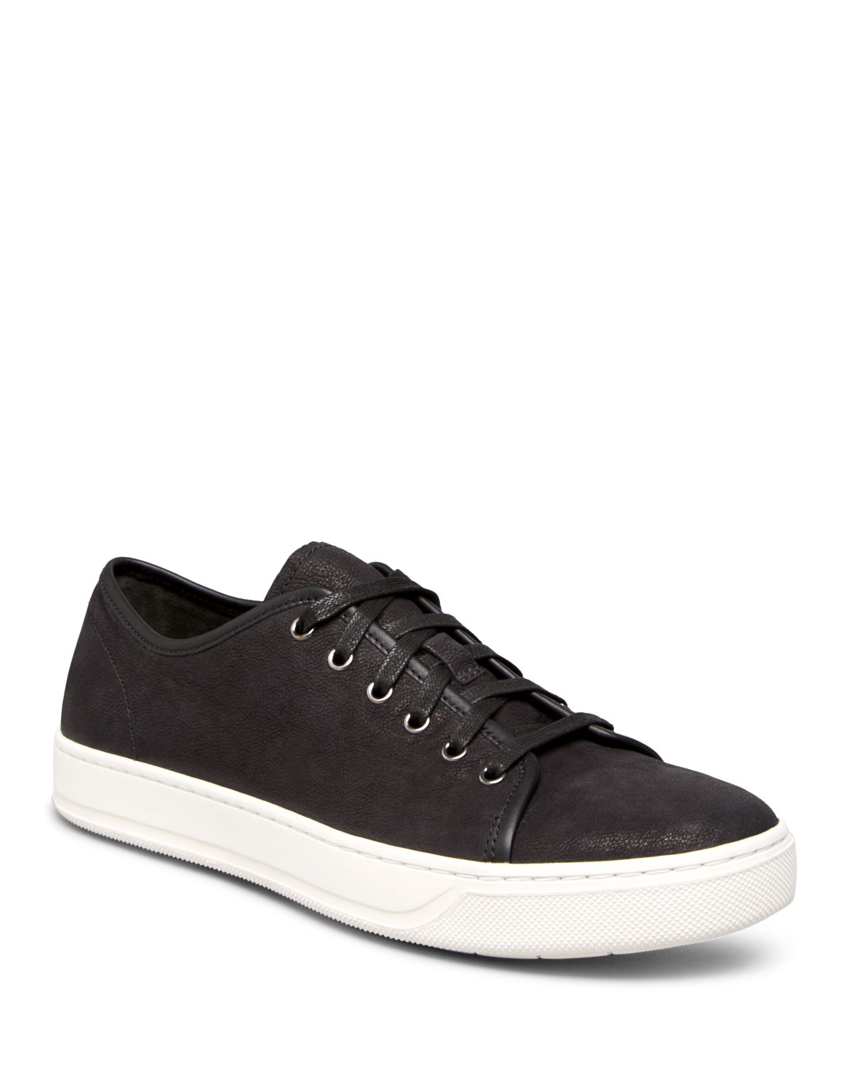 Vince Austin Washed Nubuck Lace Up Sneakers