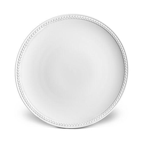 L'Objet - Soie Tressée White Bread & Butter Plate