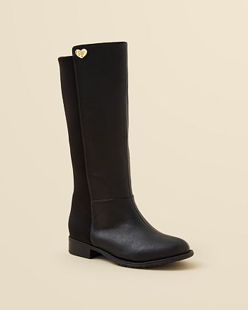 the best attitude details for check out Stuart Weitzman Girls' Faux Leather 50/50 Boots - Walker ...