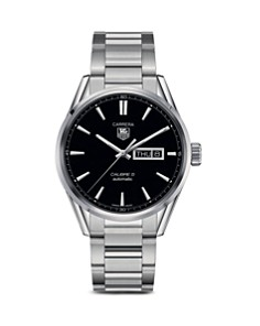 TAG Heuer Carrera Calibre 5 Day-Date Stainless Steel Watch, 41mm - Bloomingdale's_0