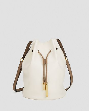 HALSTON HERITAGE - Drawstring Shoulder Bag - Bucket