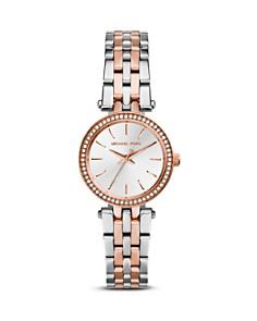 Michael Kors Petite Two-Tone Darci Watch, 26mm - Bloomingdale's_0