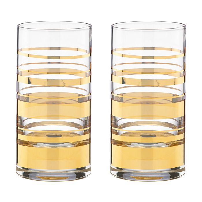 kate spade new york - Hampton Street Highball Glass, Set of 2