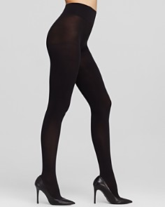 DKNY Opaque Coverage Control Top Tights - Bloomingdale's_0