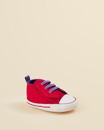 2793b95cd7cf1f Converse - Infant Girls  Chuck Taylor First Star Easy Slip Crib Shoes - Baby