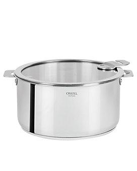 Cristel - Casteline Tech 6-Quart Stew Pot with Lid - Bloomingdale's Exclusive