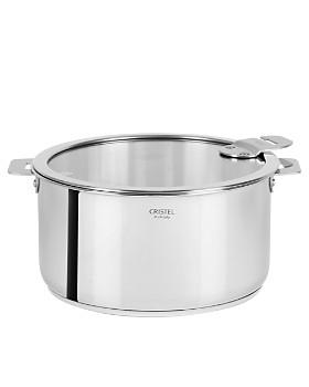 Cristel - Casteline Tech 4.5-Quart Stew Pan with Lid – Bloomingdale's Exclusive