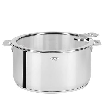 Cristel - Casteline Tech 7.5-Quart Saucepan with Lid - Bloomingdale's Exclusive
