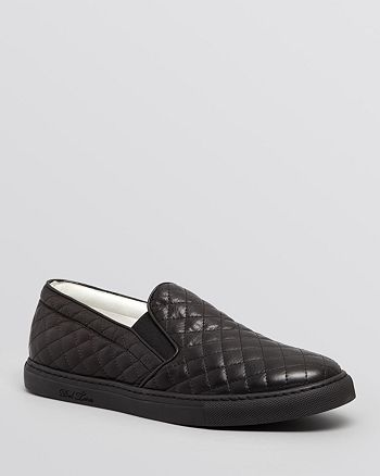 182fd7414348 Del Toro - Men s Quilted Nappa Leather Slip-On Sneakers