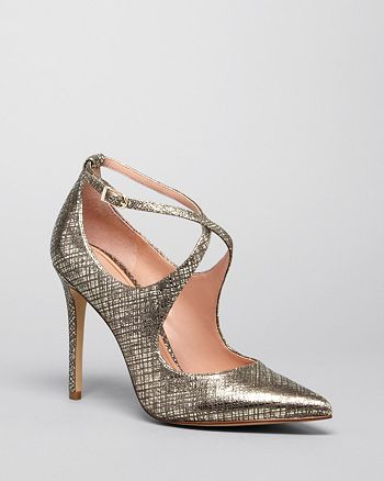 Enzo Angiolini - Pointed Toe Pumps - Finton High-Heel