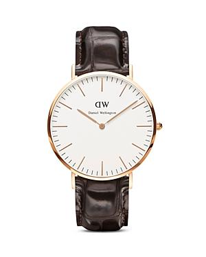 daniel wellington daniel wellington classic york watch 40mm