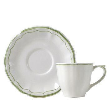 Gien France - Filets Tea Cup & Saucer