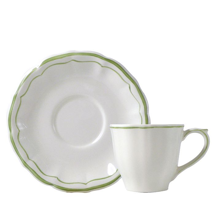 Gien France - Filets Tea Cup & Saucer