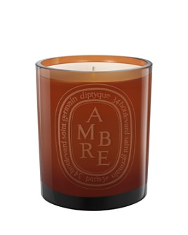 diptyque - Ambre Scented Candle, Colored Glass Jar