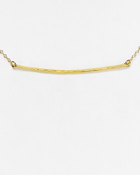 Gorjana - Small Taner Bar Necklace, 16.75""