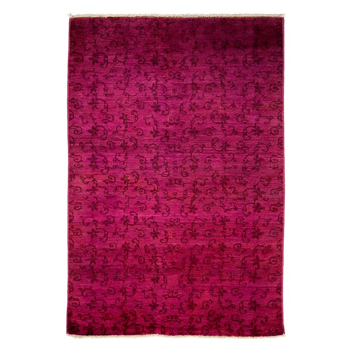 """Solo Rugs - Adina Collection Oriental Rug, 4'1"""" x 5'10"""""""