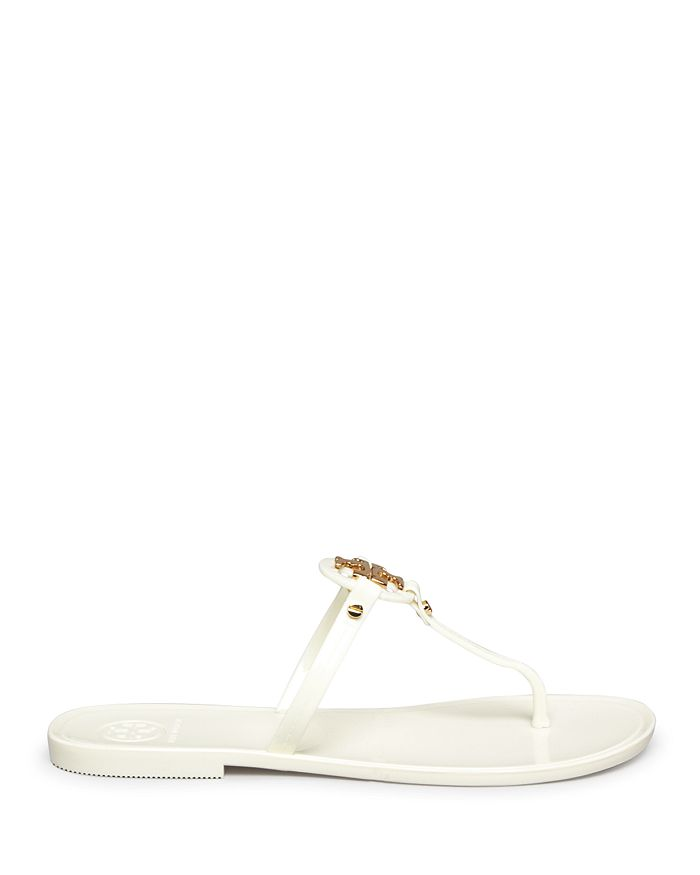 595ab3df4 Tory Burch - Women s Mini Miller Jelly Flat Thong Sandals