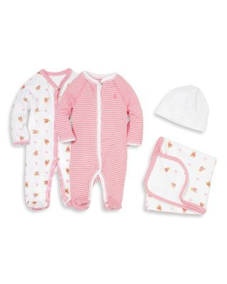 Girls' Layette Printed Footie - Baby