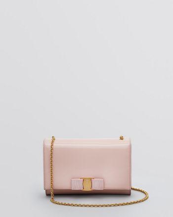 Salvatore Ferragamo - Patent Miss Vara Bow Mini Bag