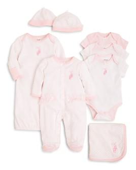 Little Me - Girls' Prima Ballerina Bodysuit 3 Pack, Blanket & More - Baby