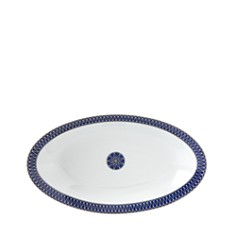 Royal Limoges - Blue Star Relish Dish