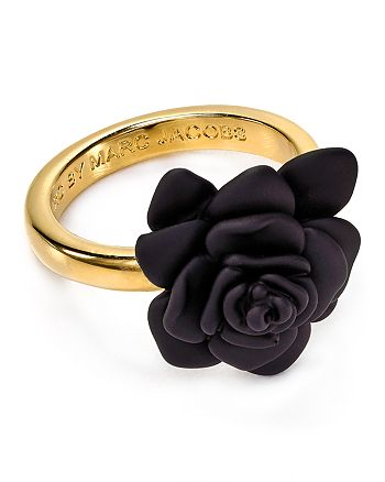 MARC JACOBS - Rubber Jerrie Rose Ring