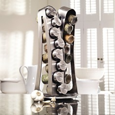 Kamenstein - 16-Spice Jar Stainless Steel Tower