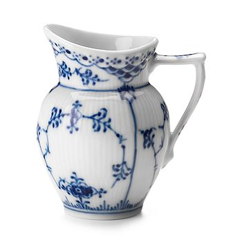 "Royal Copenhagen - ""Blue Fluted Half Lace"" Creamer"