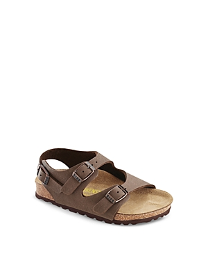 These Birkenstock sandals feature a contoured footbed to support all the arches of the foot.