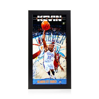 Steiner Sports - Kevin Durant Oklahoma City Thunder Player Profile Wall Art