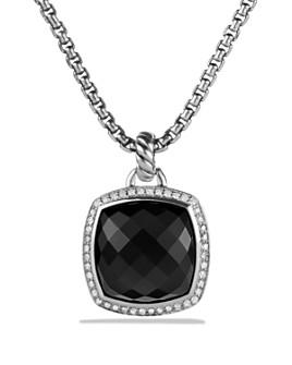 David Yurman - Albion Pendant with Black Onyx Diamonds