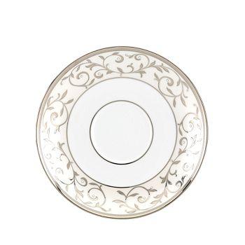 Lenox - Opal Innocence Silver Tea Saucer