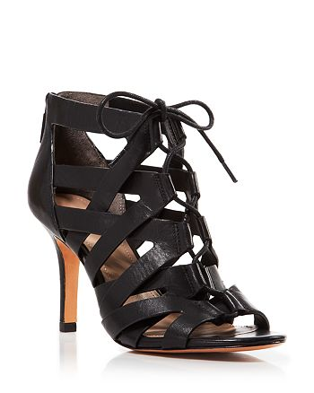 Pour La Victoire - Open Toe Caged Sandals - Camila High-Heel