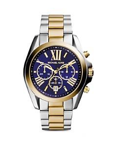 Michael Kors Bradshaw Two-Tone Watch, 43mm - Bloomingdale's_0