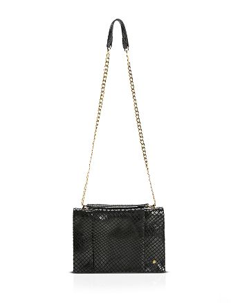 f873f7d6386e HALSTON HERITAGE Shoulder Bag - Embossed Convertible Chain Handle ...