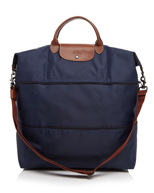 Longchamp Le Pliage Expandable Travel Duffel Nylon Weekender