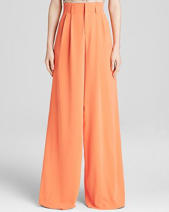Alice and Olivia - Pants - Wide Leg Trousers