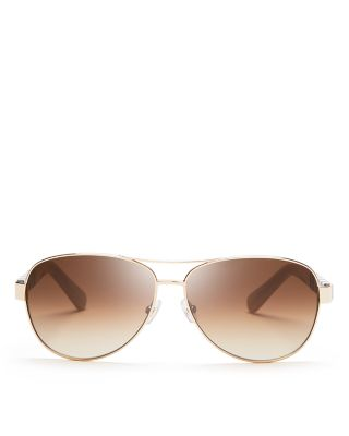 016204f2c46 kate spade new york Women s Dalia Aviator Sunglasses