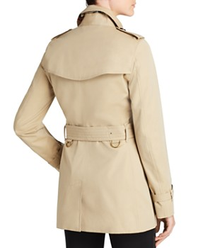Burberry - Kensington Short Trench Coat