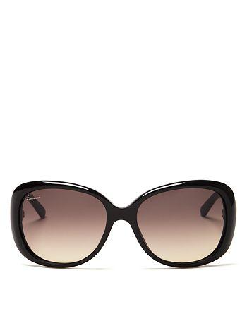 Gucci - Women's Oversized Sunglasses, 56mm