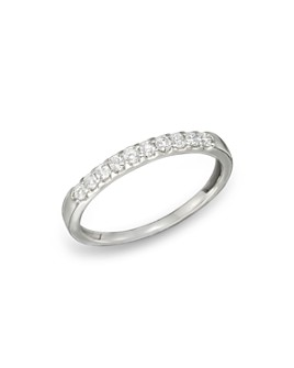Bloomingdale's - Diamond Band Ring in 14K White Gold, .25 ct. t.w.- 100% Exclusive