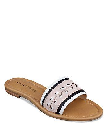 IVANKA TRUMP - Flat Slide Sandals - Arina